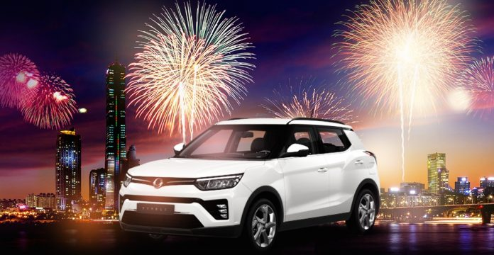 SsangYong introduces latest Tivoli SUV