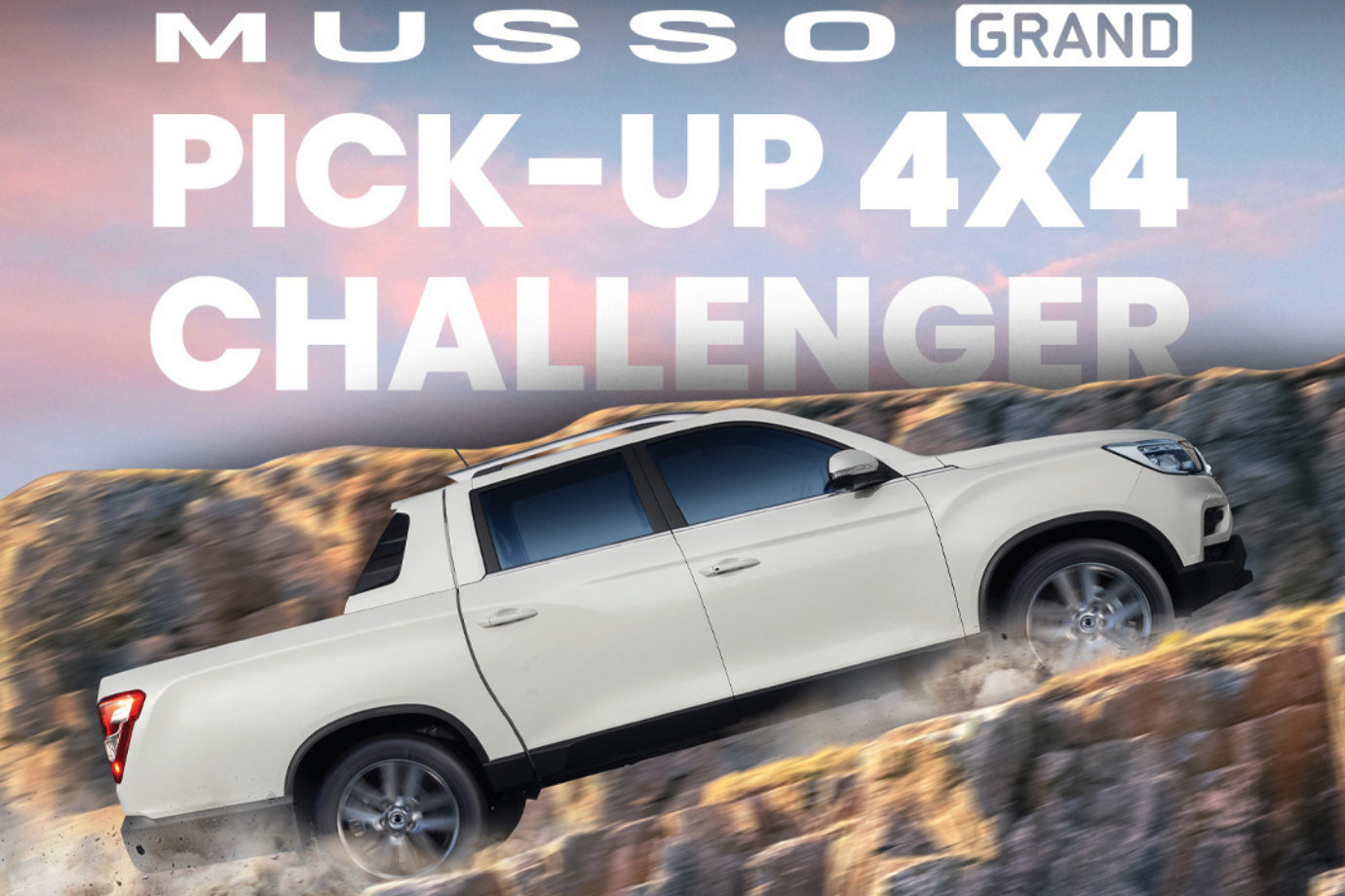 Musso pick up 4 x 4 Challenger
